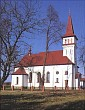 kościół i cmentarz w Kolonii Polskiej